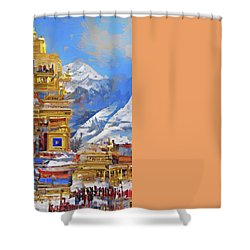 Celestial Shower Curtain by Andreas Thust