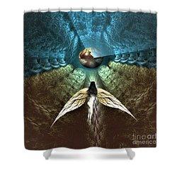 Celestial Cavern Shower Curtain