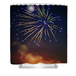 Celestial Celebration  Shower Curtain