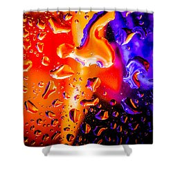 Celestial Fusion Break  Shower Curtain by Bruce Pritchett