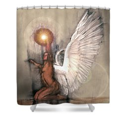 Celestial Glory Shower Curtain by Michael Durst