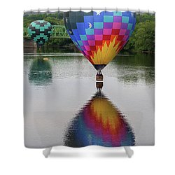 Celestial Reflections Shower Curtain