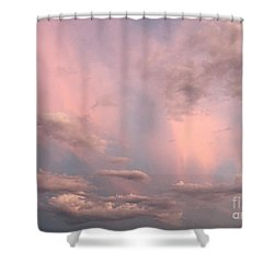 Shower Curtain featuring the photograph Celestial Sky by Paula Guttilla