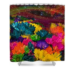 Celestial  Summer  Shower Curtain