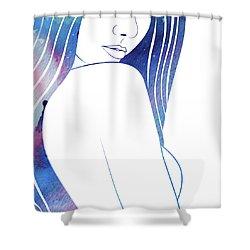 Celestial V Shower Curtain