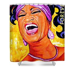 Celia Cruz Shower Curtain