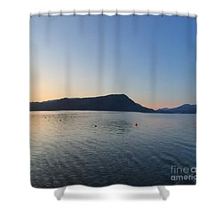 Celista Sunrise 2 Shower Curtain by Victor K