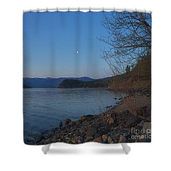 Celista Sunrise 3 Shower Curtain by Victor K