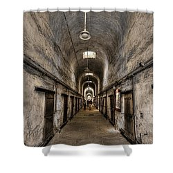 Cell Block  Shower Curtain by Evelina Kremsdorf