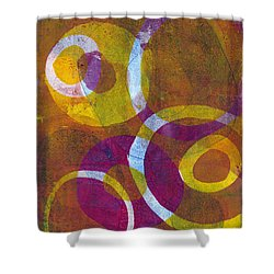 Cells 2 Shower Curtain