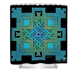 Celtic Castle Shower Curtain