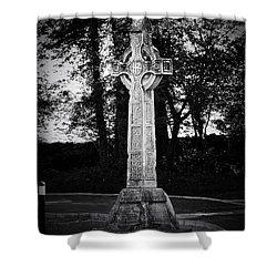Celtic Cross In Killarney Ireland Shower Curtain