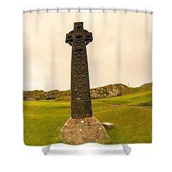 Celtic Cross, Isle Of Iona Shower Curtain