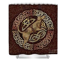 Celtic Dog Shower Curtain