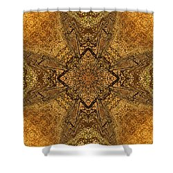 Celtic Mandala Abstract Shower Curtain