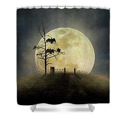 Cemetery Hill Shower Curtain