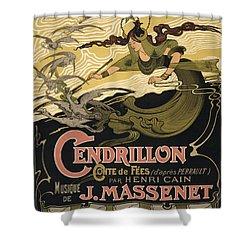 Cendrillon Poster 1899 Shower Curtain