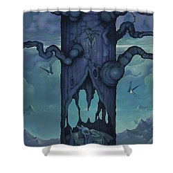 Cenotaph Shower Curtain by Andrew Batcheller