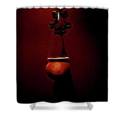 Censor Shower Curtain by William Horden