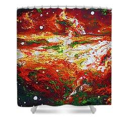 Centaurus Shower Curtain by Ericka Herazo