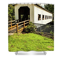 Centennial Bridge Shower Curtain