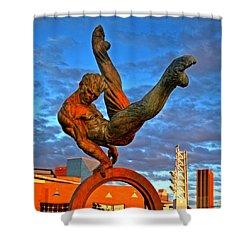Centennial Park Statue 001 Shower Curtain