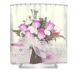 Centerpiece Shower Curtain
