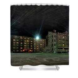 Central Area At Night Shower Curtain