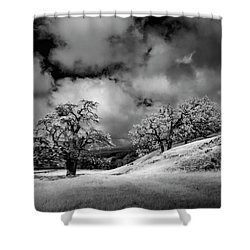 Shower Curtain featuring the photograph Central California Ranch by Sean Foster