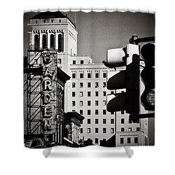Central Northside Shower Curtain