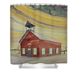 Central Ohio Schoolhouse Shower Curtain