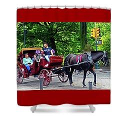 Central Park 5 Shower Curtain