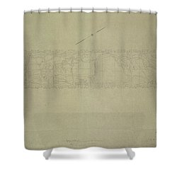 Central Park City Of New York Department Of Parks Map 1934 Shower Curtain