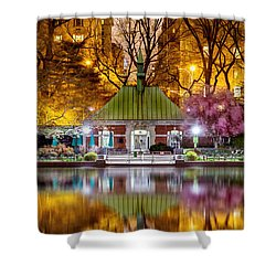 Central Park Memorial Shower Curtain