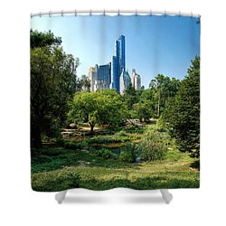 Central Park Ny Shower Curtain