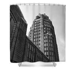 Shower Curtain featuring the photograph Central Terminal 15142 by Guy Whiteley