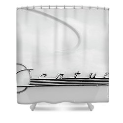 Shower Curtain featuring the photograph Century Monotone by Dennis Hedberg