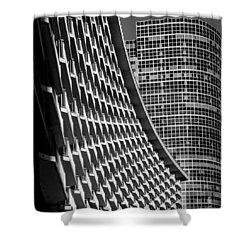 Century Plaza Hotel Shower Curtain