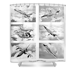 Century Series Drawings Shower Curtain