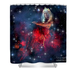 Cerces Shower Curtain by Corey Ford