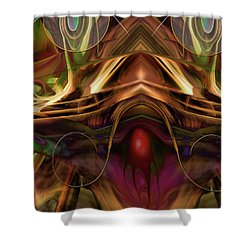 Cerebellum Festival Shower Curtain