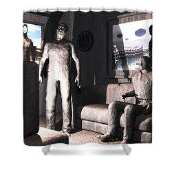 Cerebral Incinerator Shower Curtain