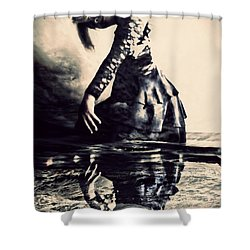 Cerebration Shower Curtain