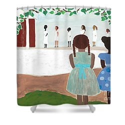 Ceremony In Sisterhood Shower Curtain