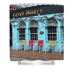 Ceres Bakery In Portsmouth Nh Shower Curtain by Nancy De Flon