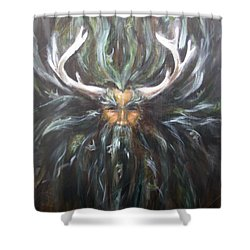 Cernunnos Shower Curtain