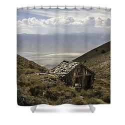 Cerro Gordo Cabin Shower Curtain