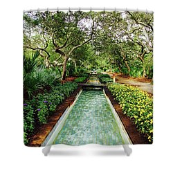 Cerulean Park Shower Curtain