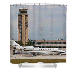 Cessna 750 Jet Shower Curtain
