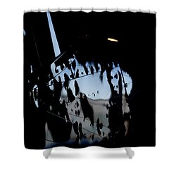 Shower Curtain featuring the photograph Cessna Art I by Paul Job